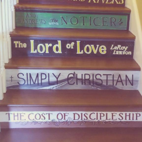 lépcső könyv borító