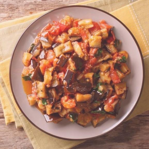 marokkoi padlizsansalata dietasan recept