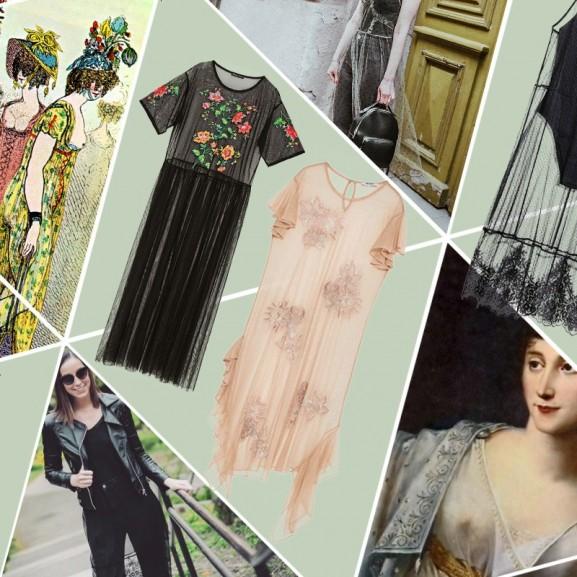 Mengyán Eszter Divattörténet direktórium trend divat meztelen ruha