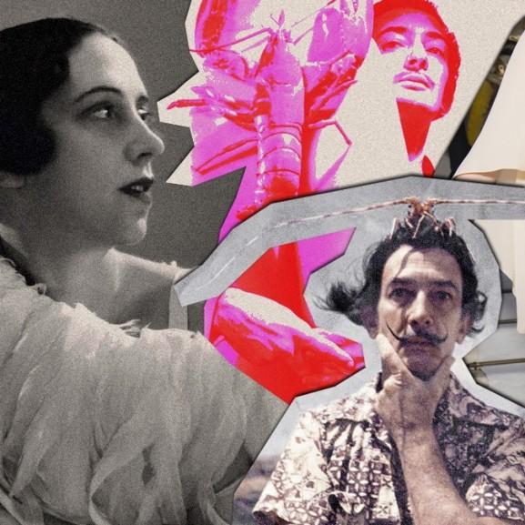 Mengyán Eszter Elsa Schiaparelli Salvador Dalí Coco Chanel tervező művés designer