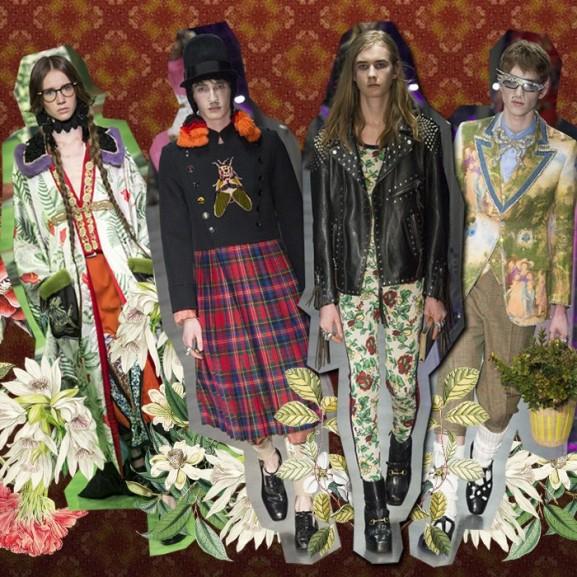 Mengyán Eszter Gucci gender divatbemutató