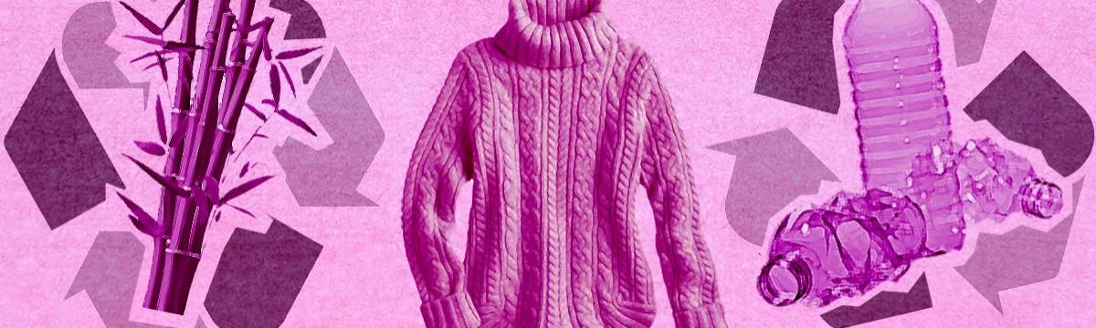 Mengyán Eszter Kötött pulcsi alternatív anyagokból ökodivat tudatosság divat környezetvédelem