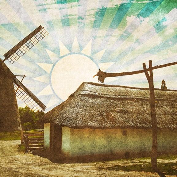 Mengyán Eszter szerelmes levél Alföld vidék falu síkság malom gémeskút