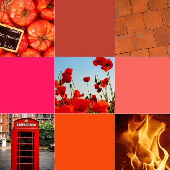 Mengyán Eszter vörös piros szín teszt
