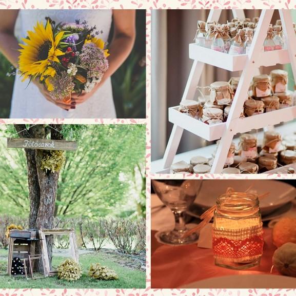 Mengyán Eszter Zöld esküvő esküvőszervező dekoráció környezettudatosság környezetvédelem