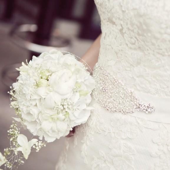 menyasszony ruha csokor