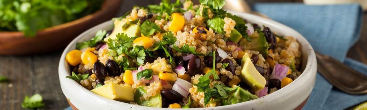 Mexikói quinoasaláta