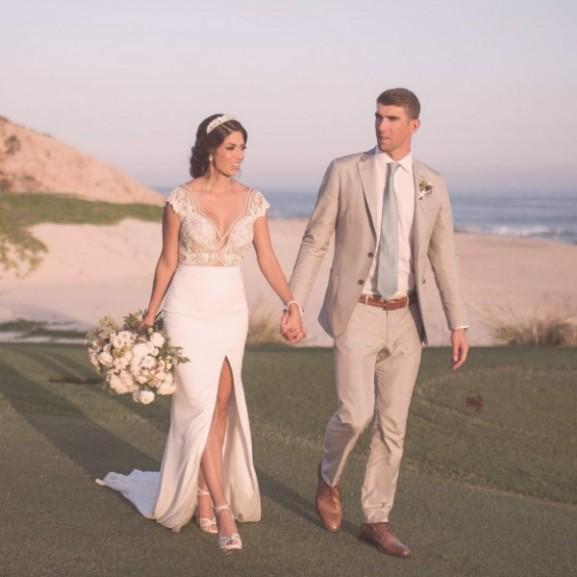 michael phelps esküvő