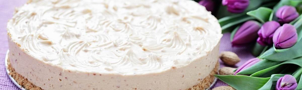 Mogyoróvajas sajttorta sütés nélkül
