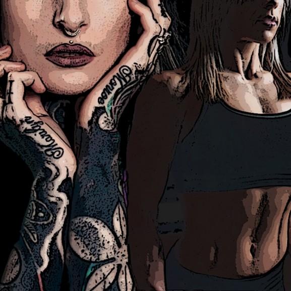 Mojzes Nóra Nem vagyunk angyalok: az escort, a testépítő és a tetováló lány