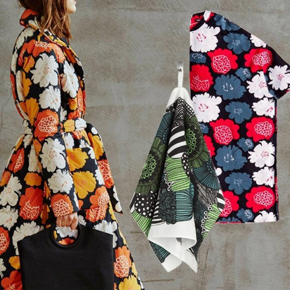 Mojzes Nóra Téli depresszió ellen: Marimekko = színek és virágok!