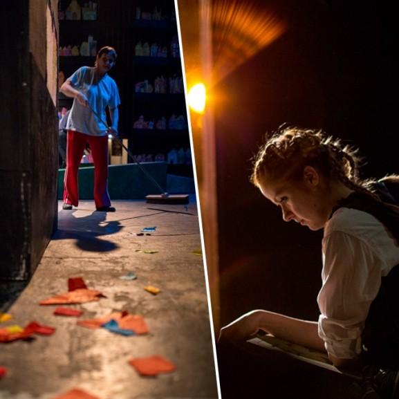Molnár Anikó színház backstage fotóriport Pesti Magyar Színház Harisnyás Pippi
