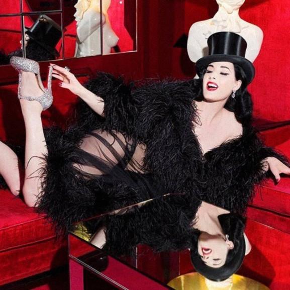 Molnár Viola Anna Öt megfontolandó stílustipp a glamour királynőjétől, Dita Von Teese-től