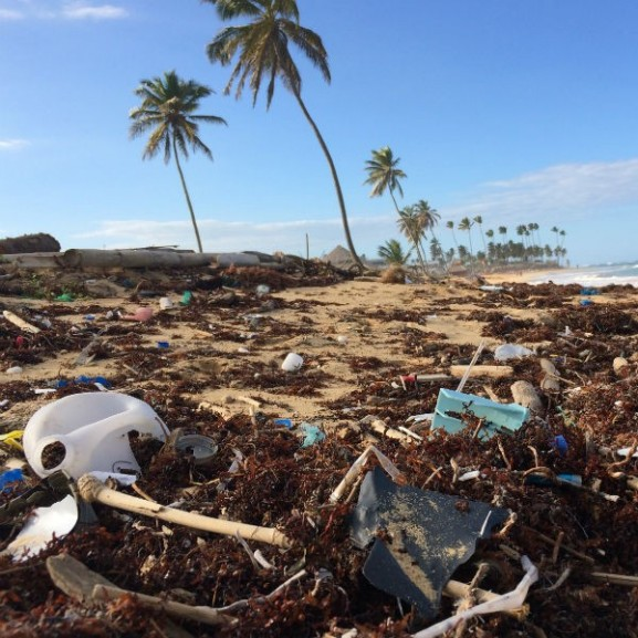 műanyag hulladék