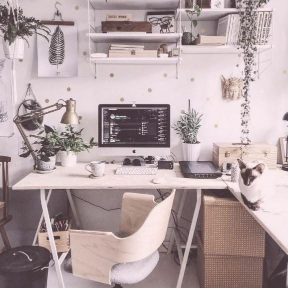 munka szoba íróasztal