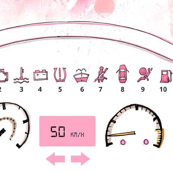 Tanuljátok meg, mit mond az autótok! – infografika csajoknak