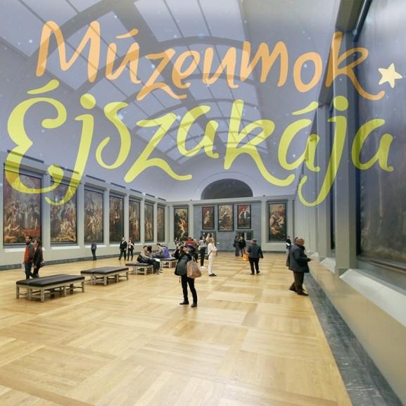 múzeumok éjszakája kultjelző