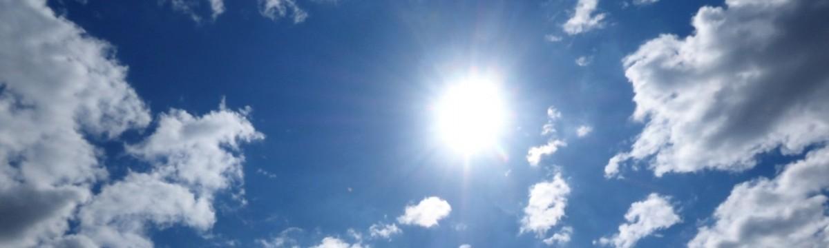 nap napsütés ég nyár