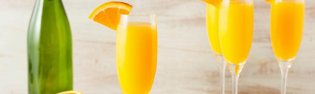 Narancsos pezsgőkoktél