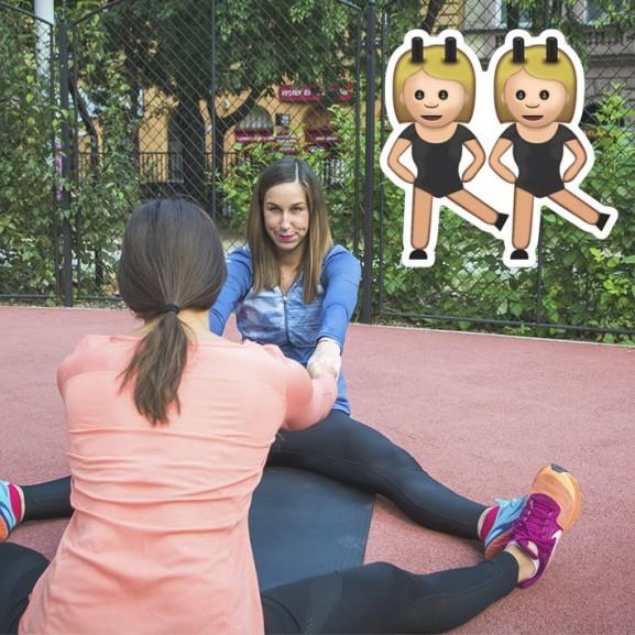 Ne legyetek befeszülve! – Páros nyújtógyakorlatok otthonra, nem csak edzés utánra