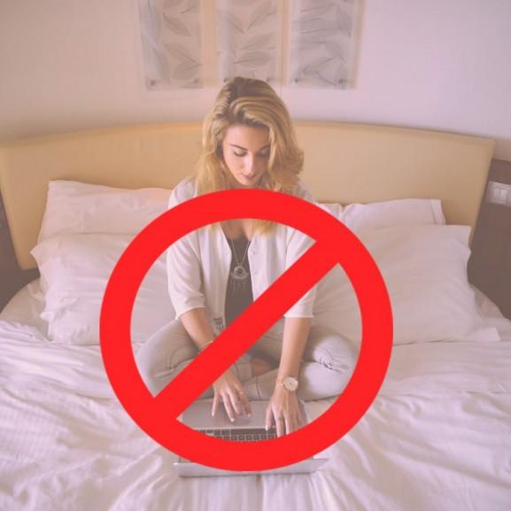 ne ülj az ágyra