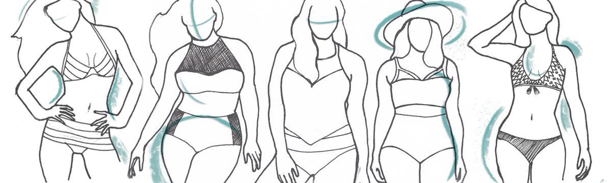 A legjobb bikinik pici cicihez vagy széles csípőhöz – Válasszatok fürdőruhát a testalkatotokhoz!