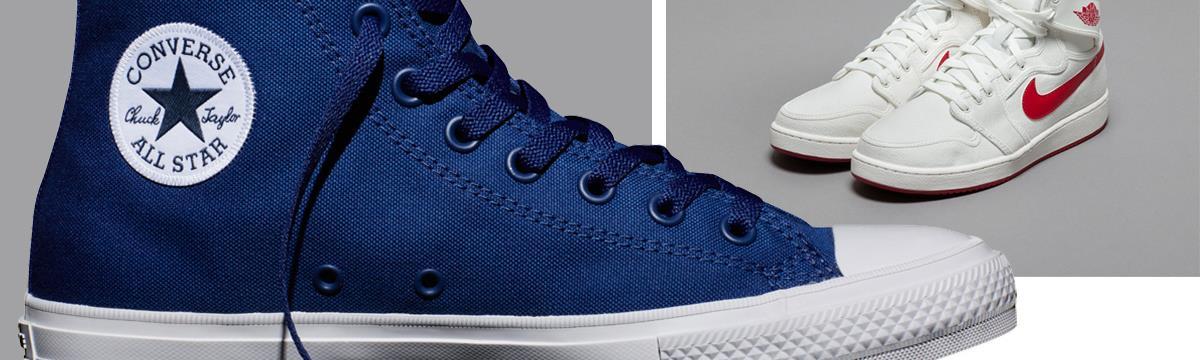 Csak ti öregszetek, nem a kedvenc cipőtök – Hódít a klasszikus Adidas, Converse és Nike