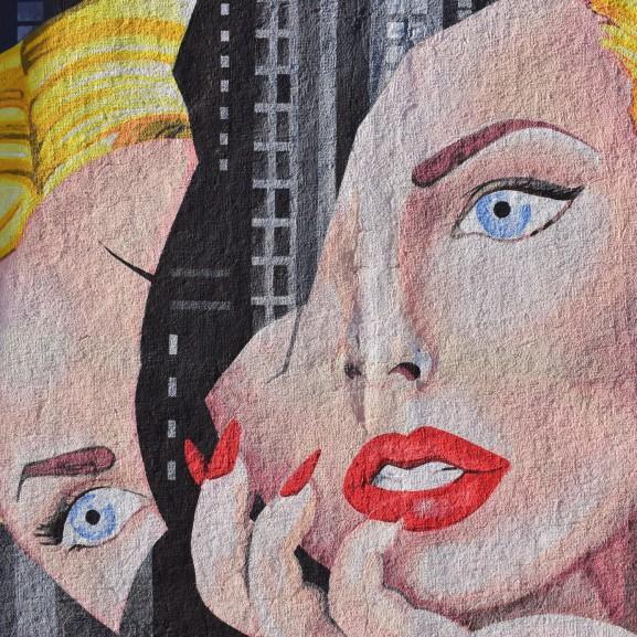 nő festmény