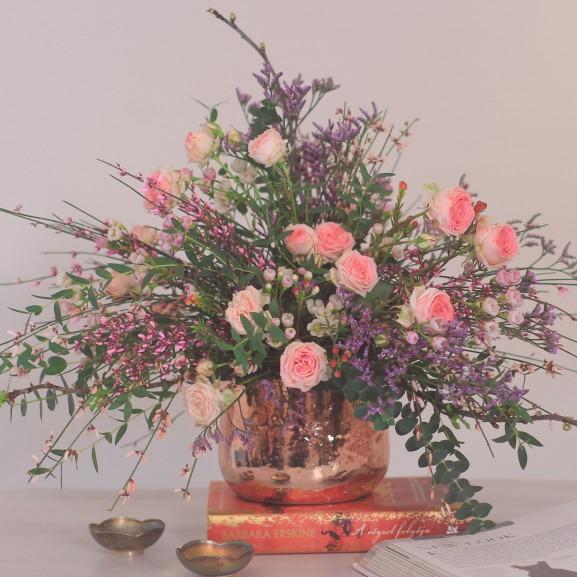norie-videó virág dekor dekoráció