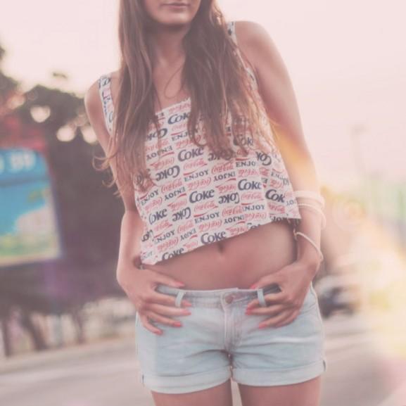 nyár lány fesztivál meleg