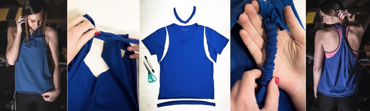 Nyissz-nyissz: feleslegessé vált a pasitok pólója? Készítsetek edzős trikót! Engel Nóra