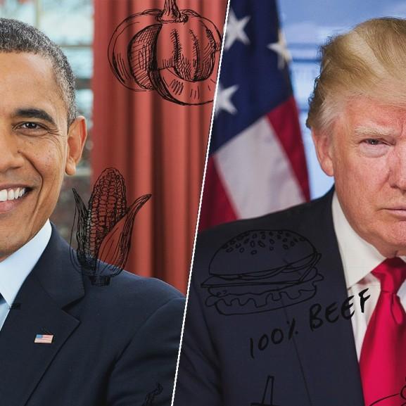 Obama vs. Trump – avagy zöldségek vs. hamburger Mojzes Nóra