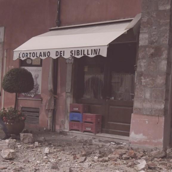olaszország földrengés földmozgás Borgo Sant'Antonio