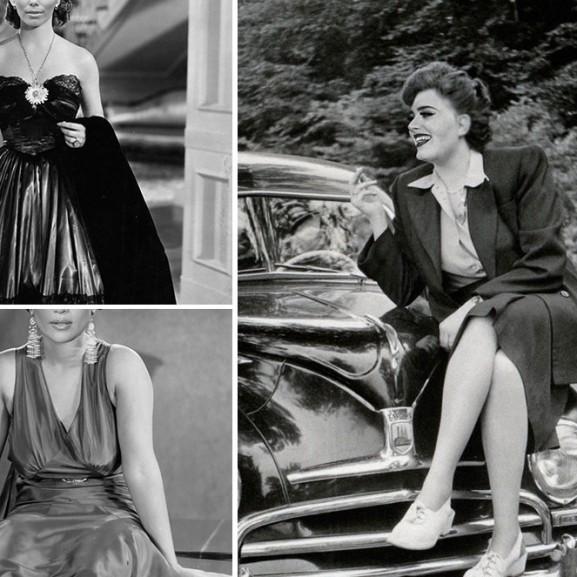 Old Hollywood modern hírességek régi képeken Molnár Anikó Photoshop
