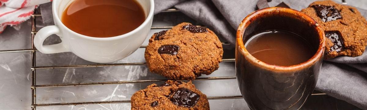 Omlós csokis cookie egészségesen, csicseriborsóból