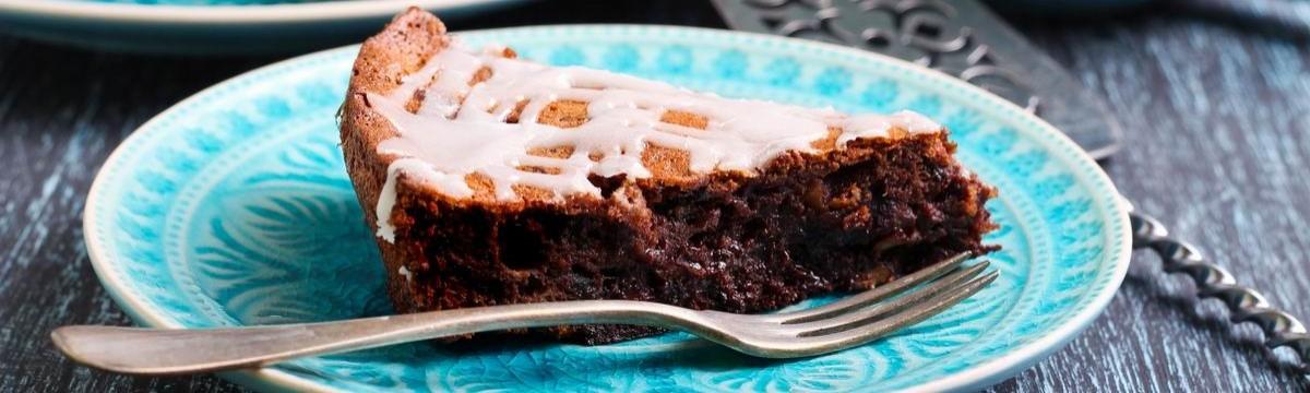 Omlós-krémes csokitorta