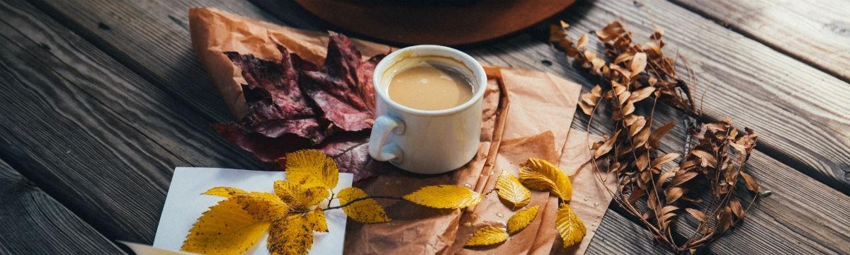 ősz kávé