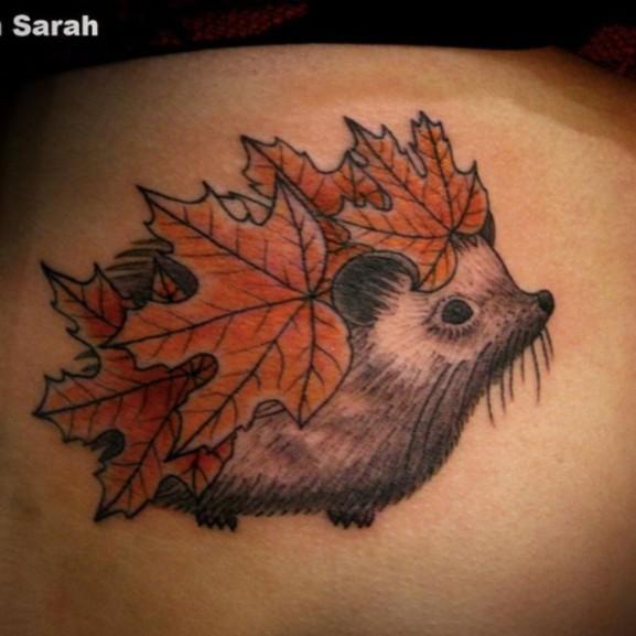 őszi tetoválás