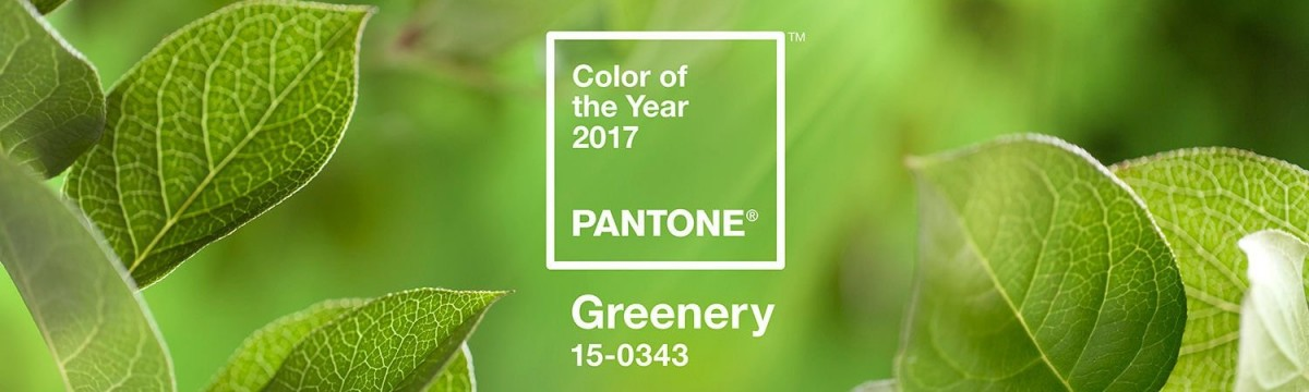 PANTONE pantone Be in trend: Color of the year from PANTONE pantone greenery zold