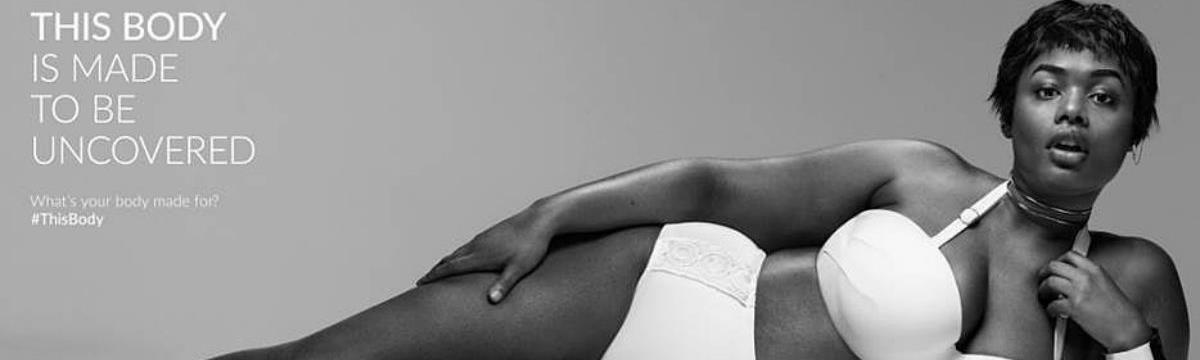 Lane Bryant kampányába került egy gyönyörű plus-size modell