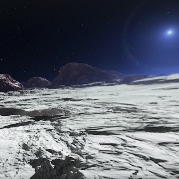 Plútó bolygó világűr