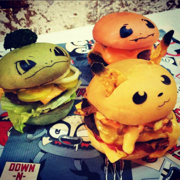 pokemon hamburger
