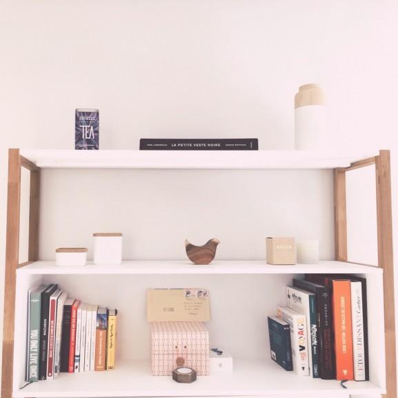 polc könyv szoba rend