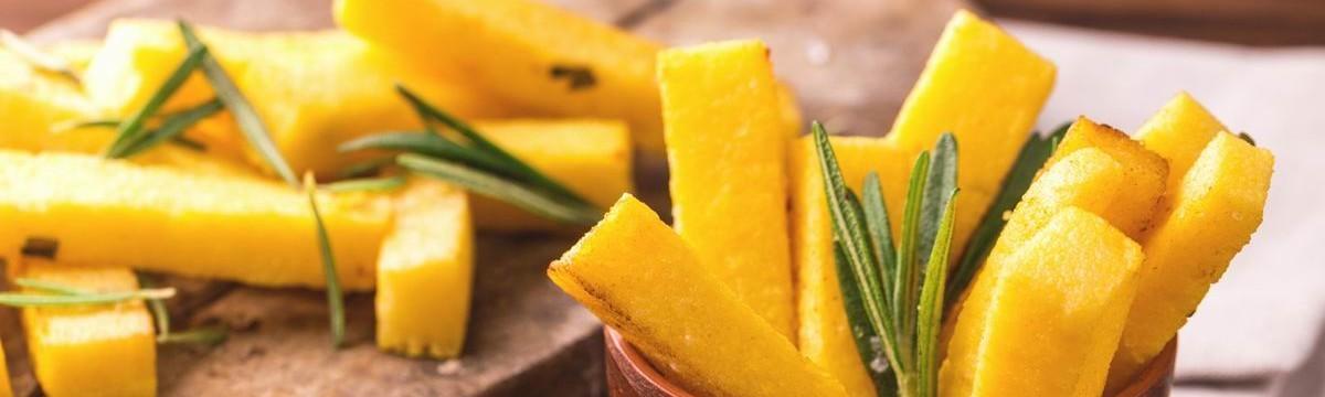 Polenta puliszka snack előétel