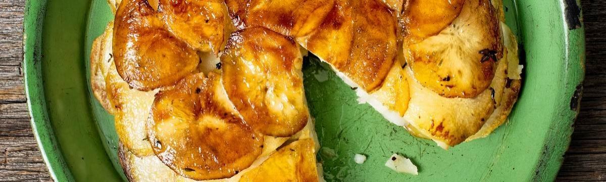 Pommes Anna, a tökéletes francia sült krumpli