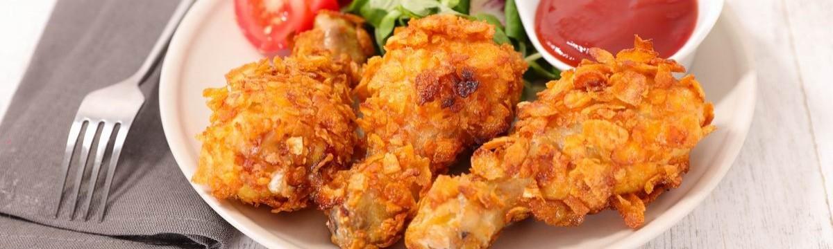 Rántott csirke bundás pipi