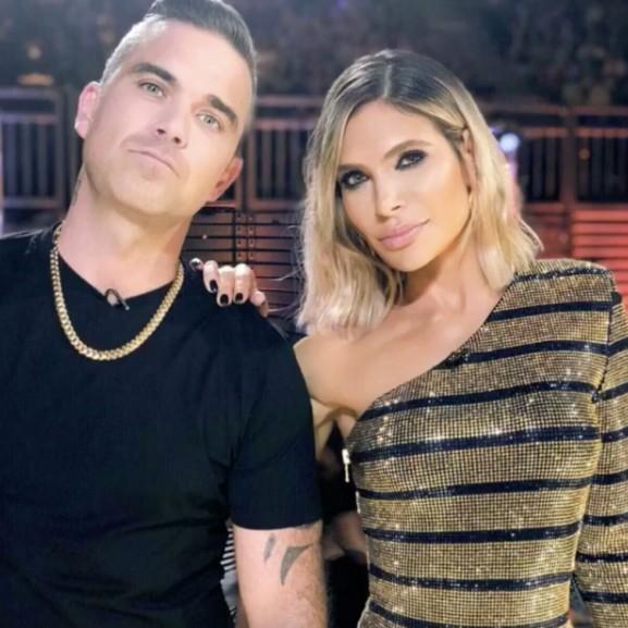 Robbie Williamsnak megszületett harmadik gyermeke