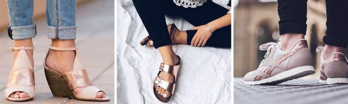 rosegold rózsaarany cipő lábbeli
