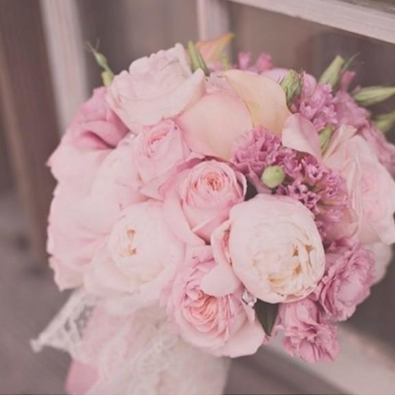 rózsa menyasszonyi csokor