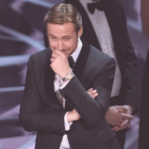 ryan gosling reakció oscar
